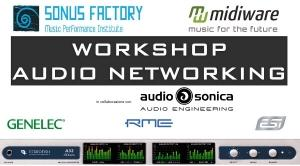 Introduzione all'audio networking - Workshop @ Sonus Factory ROMA